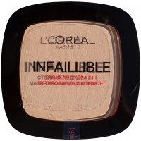 LOreal Maquillage пудра 9 Infaillible Непобедимая 225, 9 г