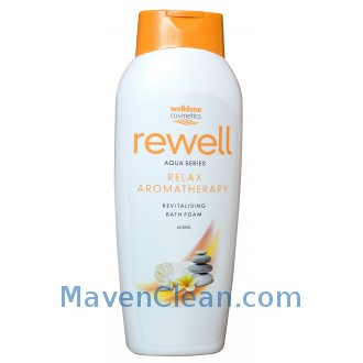 Well Done Пенка для ванной Rewell Relax Aromatherapy 600 мл фото