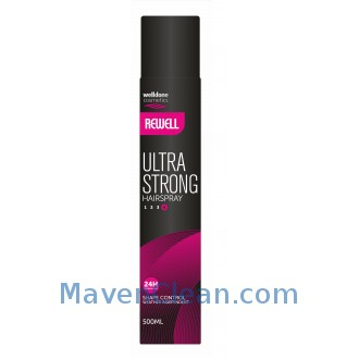 Well Done Лак для волос Rewell Hair spray Ultra Strong 500 мл фото
